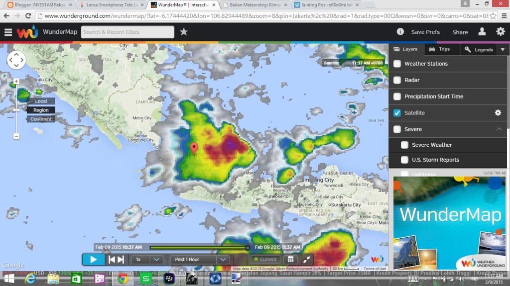 badai tropis 09022015 cuaca jakartaREGIONAL